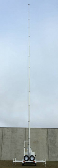 Fireco Telescopic 'Steady' Mast With Locking Collars