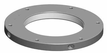 Lightweight telescopic mast round roof bracket