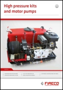FIRECO HIGH PRESSURE KITS AND MOTOR PUMPS
